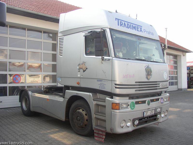 Skoda Liaz 400 Xena truck camión
